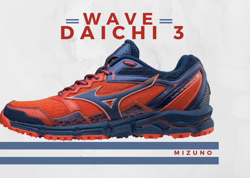 Zapatillas trail running de Mizuno, novedades destacadas 2018 - Mizuno Wave Daichi 3