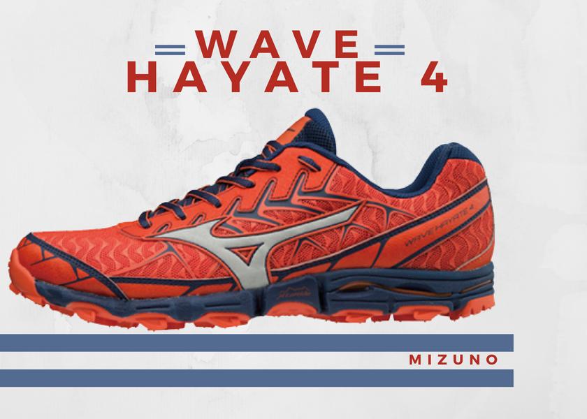Zapatillas trail running de Mizuno, novedades destacadas 2018 - Mizuno Wave Hayate 4
