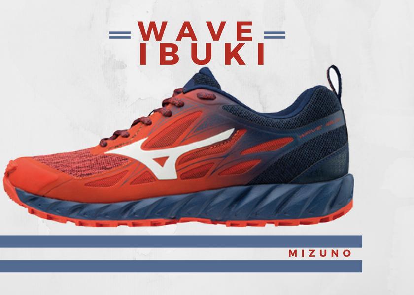 Zapatillas trail running de Mizuno, novedades destacadas 2018 - Mizuno Wave Ibuki