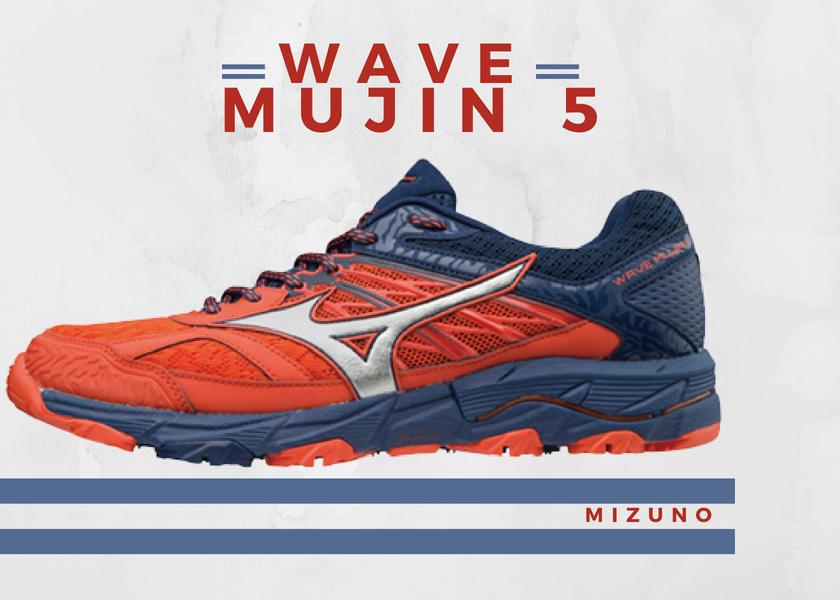 Zapatillas trail running de Mizuno, novedades destacadas 2018 - Mizuno Wave Mujin 5