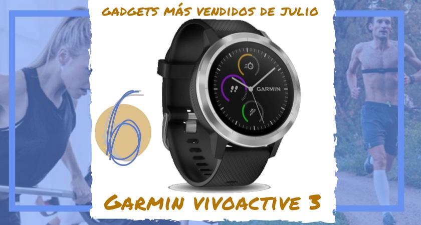 Los 10 gadgets deportivos de entrenamiento más vendidos del mes de julio - Garmin Vivoactive 3