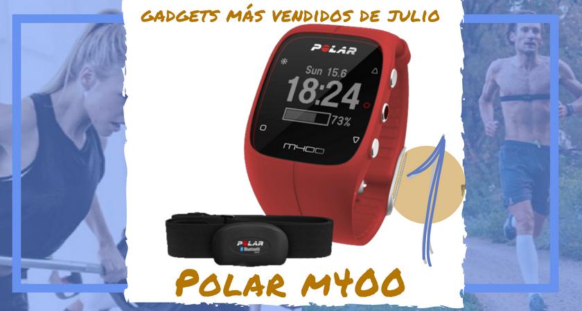 Los 10 gadgets deportivos de entrenamiento más vendidos del mes de julio - Polar M400
