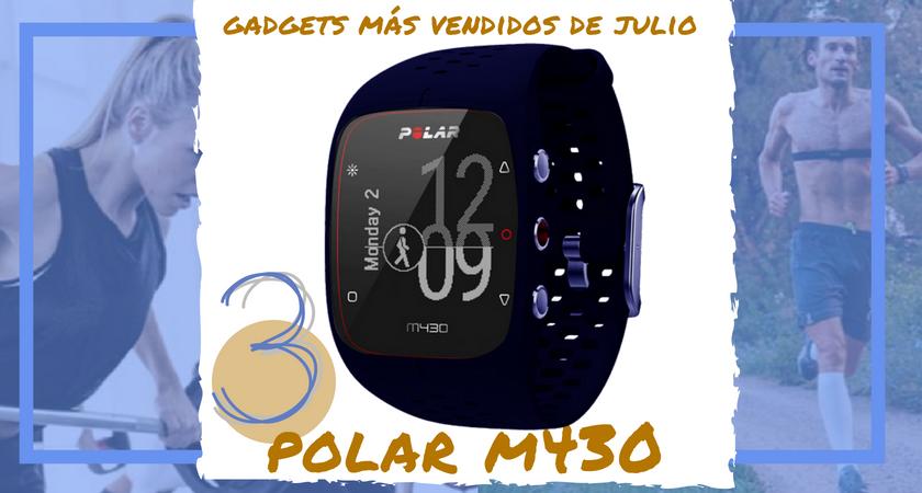 Los 10 gadgets deportivos de entrenamiento más vendidos del mes de julio - Polar M430