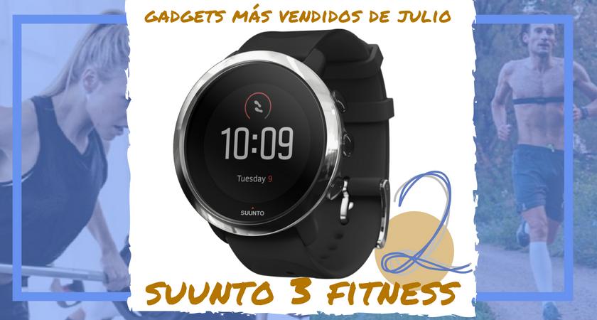 Los 10 gadgets deportivos de entrenamiento más vendidos del mes de julio - Suunto 3 Fitness