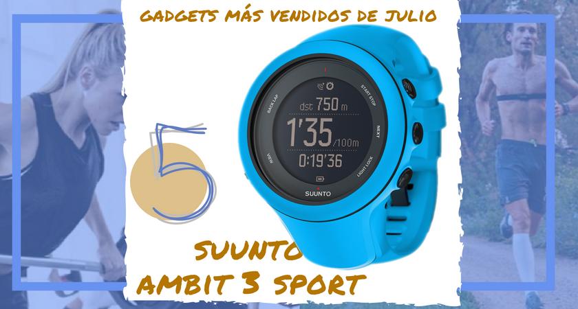 Los 10 gadgets deportivos de entrenamiento más vendidos del mes de julio - Suunto Ambit 3 Sport
