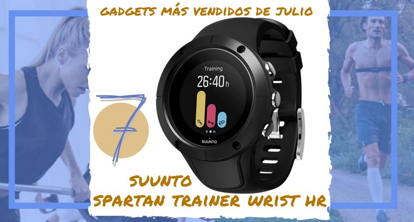 Los 10 gadgets deportivos de entrenamiento más vendidos del mes de julio - Suunto Spartan Wrist Trainer HR