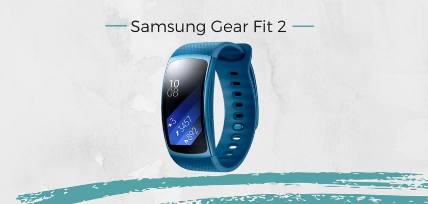 mejores pulseras actividad, Samsung Gear Fit 2