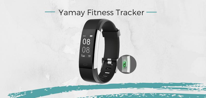 mejores pulseras actividad, Yamay Fitness Tracker