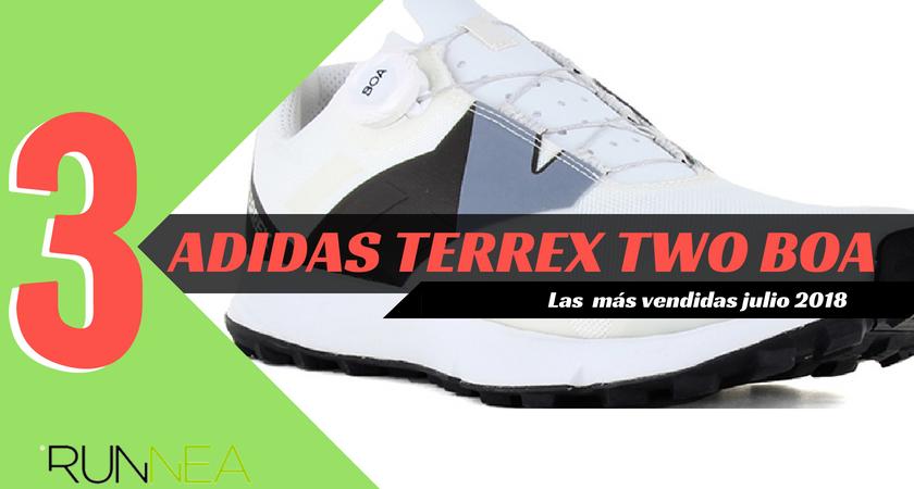 Las 15 zapatillas de running más vendidas del mes de julio 2018 - Adidas Terrex Two BOA