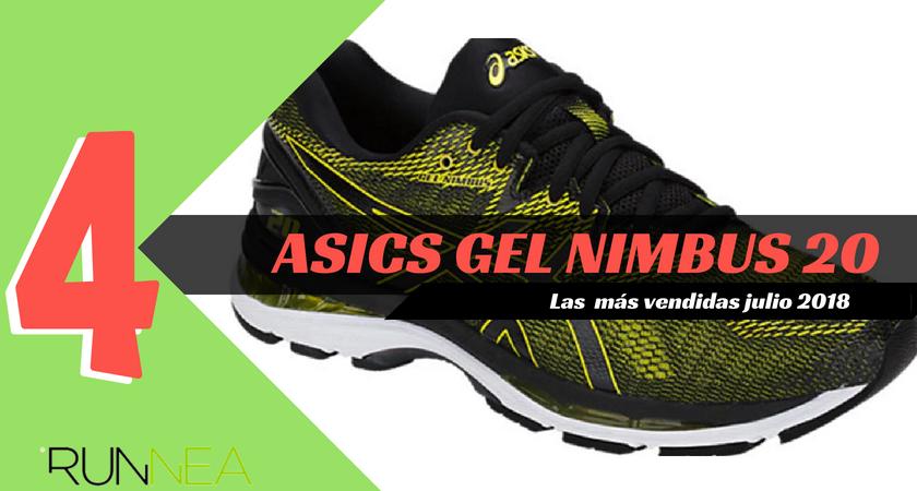 Las 15 zapatillas de running más vendidas del mes de julio 2018 - ASICS Gel Nimbus 20