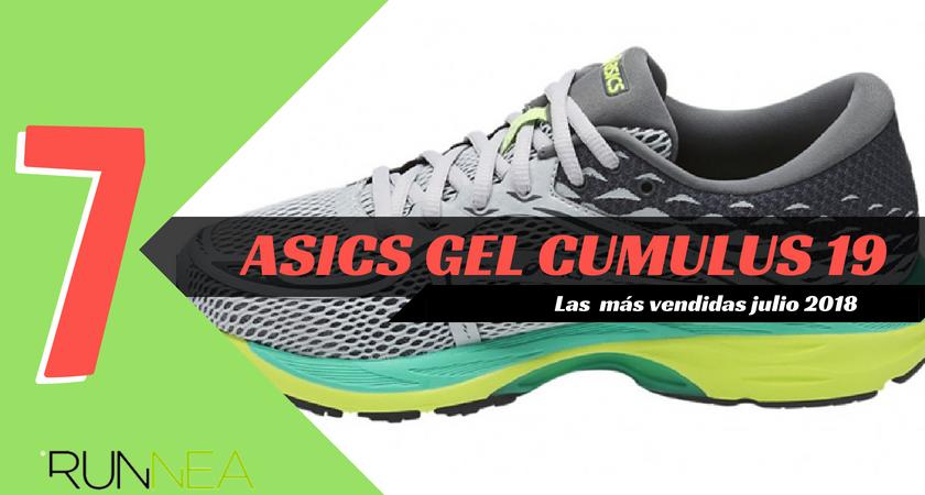 Las 15 zapatillas de running más vendidas del mes de julio 2018 - ASICS Gel Cumulus 19