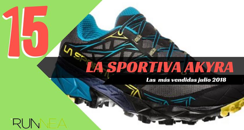 Las 15 zapatillas de running más vendidas del mes de julio 2018 - La Sportiva Akyra