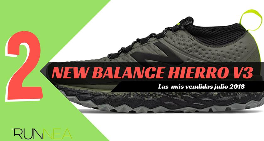 Las 15 zapatillas de running más vendidas del mes de julio 2018 - New Balance Fresh Foam Hierro v3