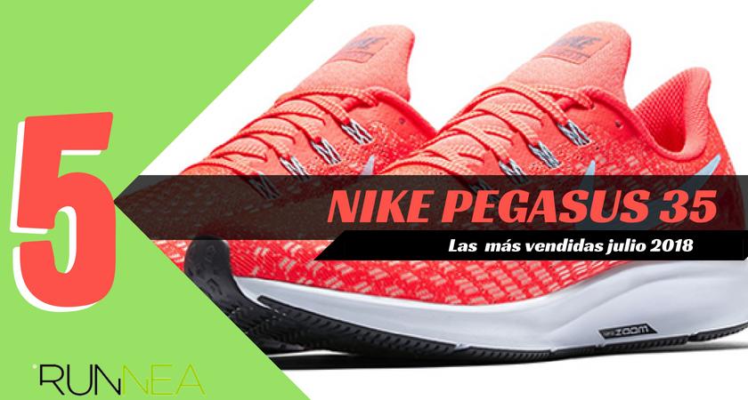 Las 15 zapatillas de running más vendidas del mes de julio 2018 - Nike Pegasus 35
