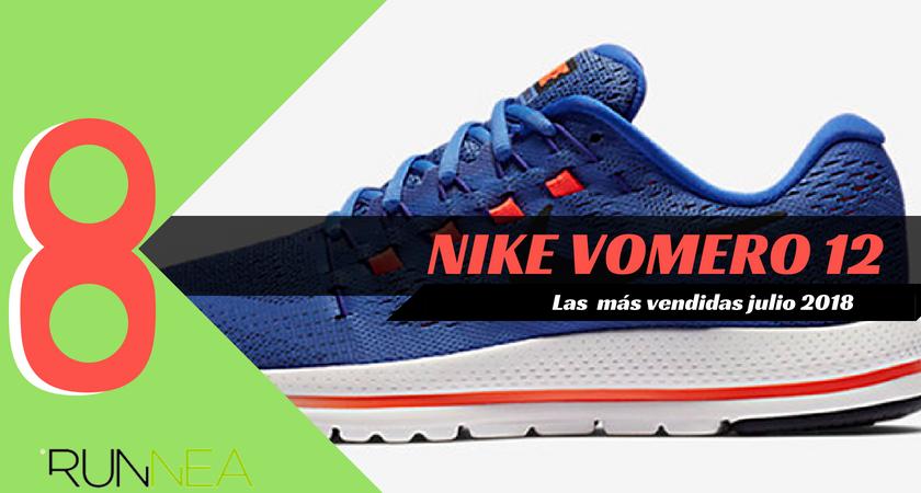 Las 15 zapatillas de running más vendidas del mes de julio 2018 - Nike Vomero 12