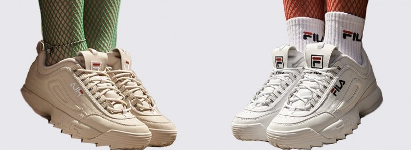 fila blancas originales vs fake