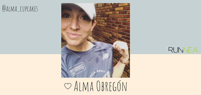 Las instagramers más influyentes del universo running en España, Alma Obregón