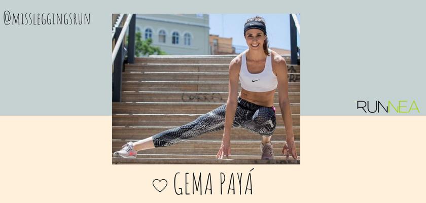 Las instagramers más influyentes del universo running en España, Gema Payá