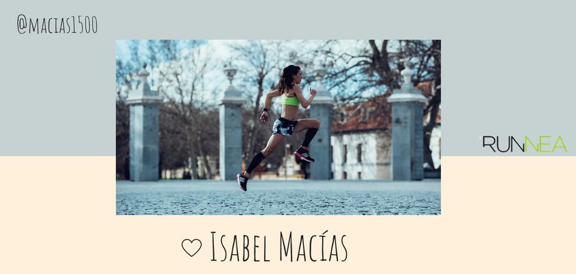 Las instagramers más influyentes del universo running en España, Isabel Macías