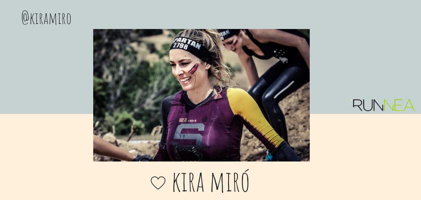 Las instagramers más influyentes del universo running en España, Kira Miró