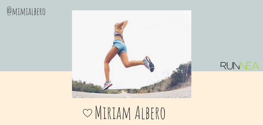 Las instagramers más influyentes del universo running en España, Miriam Albero