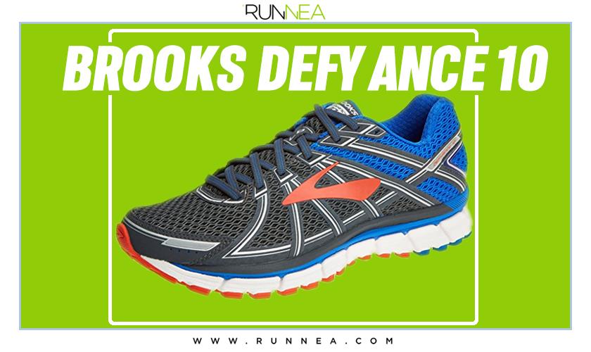 Mejores zapatillas de running para empezar a correr - Brooks Defyance 10