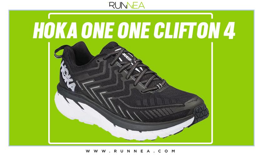 Mejores zapatillas de running para empezar a correr - Hoka One One Clifton 4