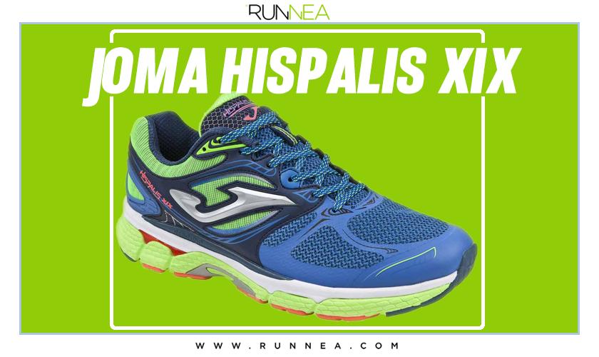 Mejores zapatillas de running para empezar a correr - Joma Hispalis XIX
