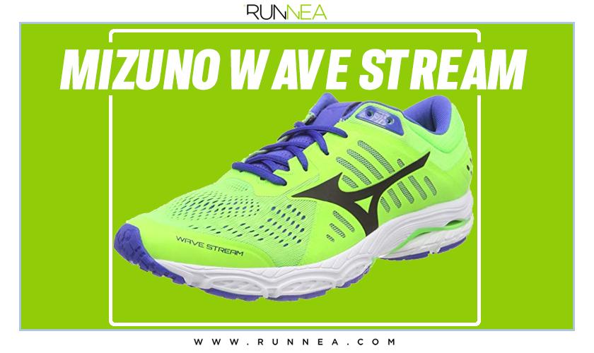 Mejores zapatillas de running para empezar a correr - Mizuno Wave Stream