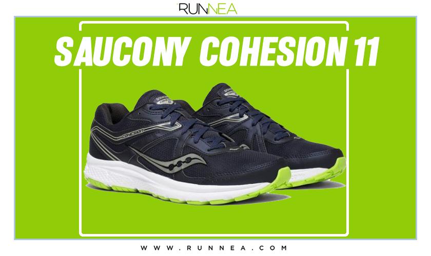 Mejores zapatillas de running para empezar a correr - Saucony Cohesion 11
