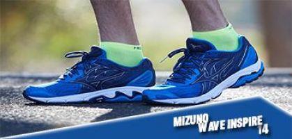 Las 6 claves de las Mizuno Wave Inspire 14, zapatilla de running top para el corredor pronador