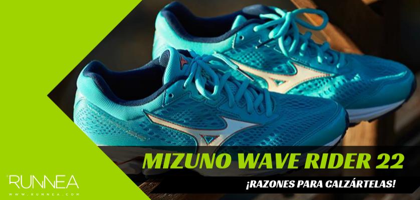 ¿Por qué calzarte las Mizuno Wave Rider 22, si eres runneante femenina?