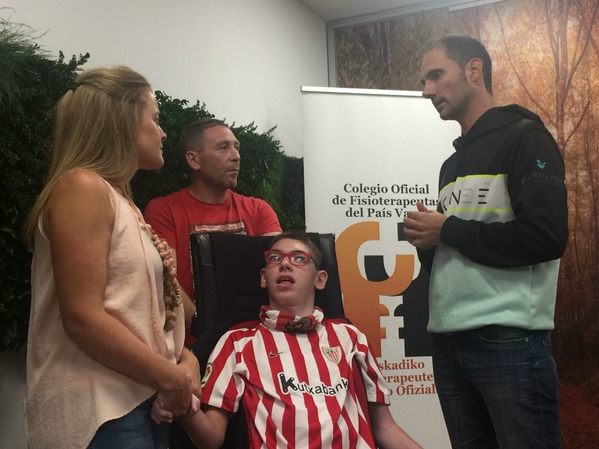 Urtzi y Julio  , protagonistas de la Gernika Bilbao 2018