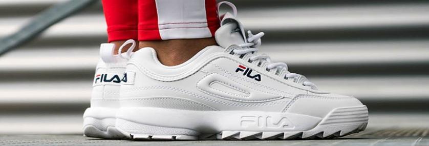 45f78ac3bf024 Fila Disruptor 2  Las zapatillas blancas que son tendencia