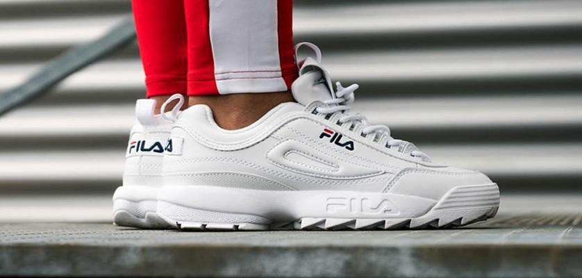 Fila Disruptor 2: Las zapatillas blancas que son tendencia