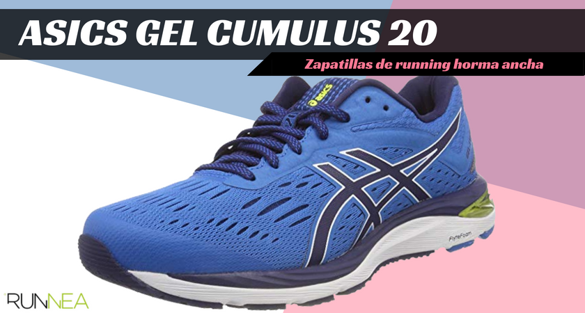 Zapatillas de running para corredores de pies anchos