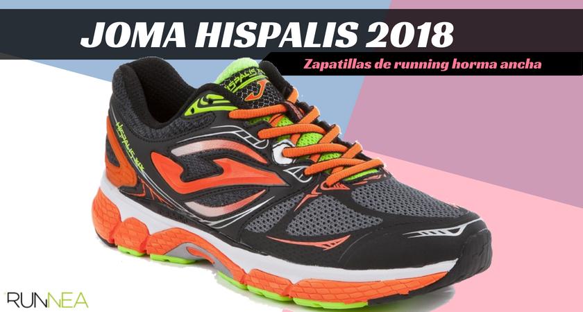 Zapatillas running para corredores con pies anchos - Joma Hispalis 2018