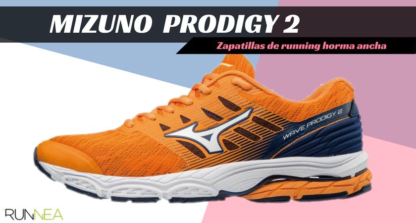 Zapatillas running para corredores con pies anchos - Mizuno Wave Prodigy 2