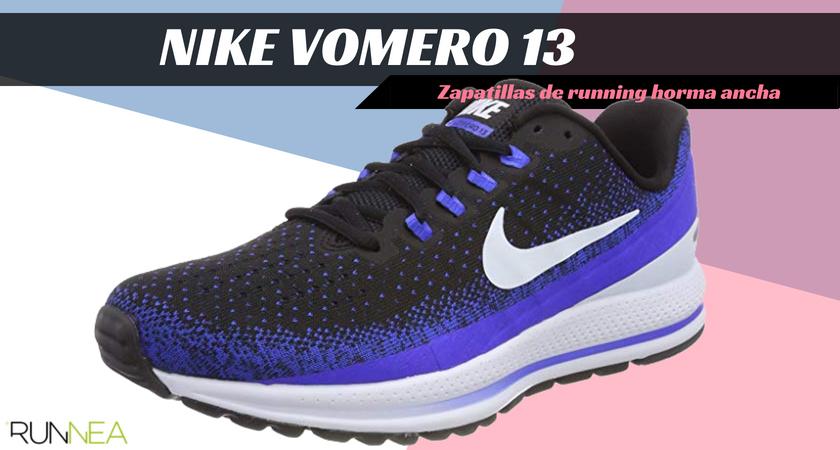 Zapatillas running para corredores con pies anchos - Nike Vomero 13