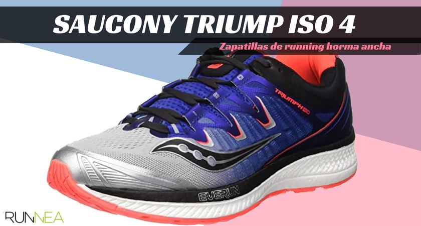 Zapatillas running para corredores con pies anchos - Saucony Triumph ISO 4