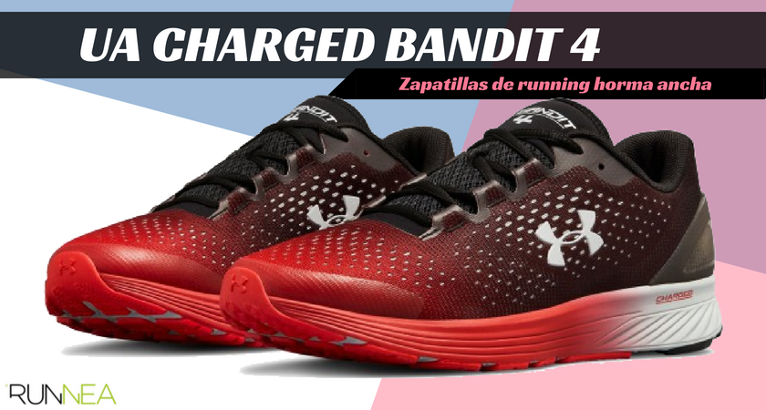Scarpe da running per corridori a piede largo - Under Armour Charged Bandit 4