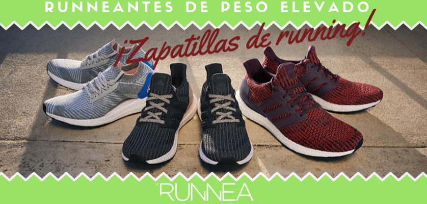 Zapatillas de running para runneantes pesados con más de 100