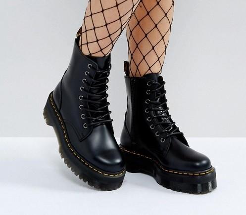 botas dr martens jaden negras mujer