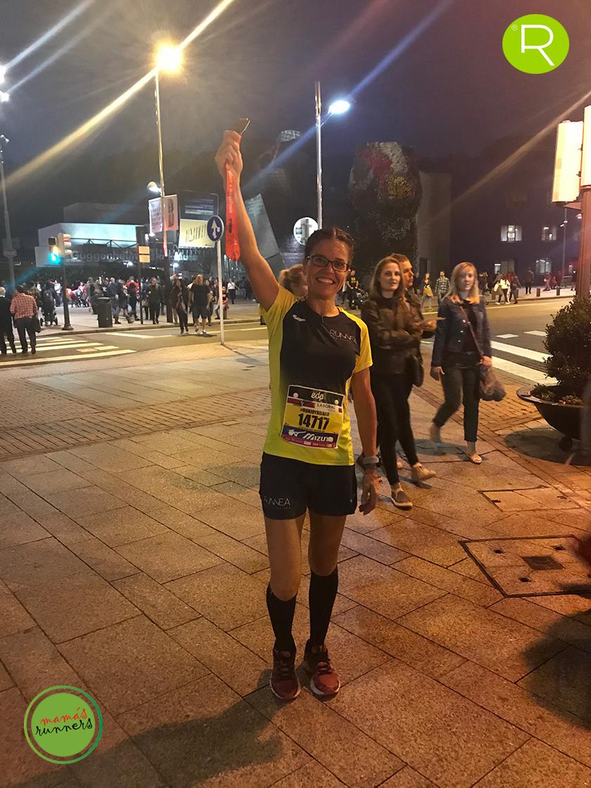Crónica Bilbao Night Marathon 2018 - La euforia del runneante y la post-carrera - foto 7