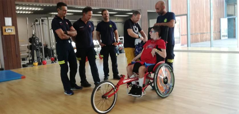"""""""Unidos por un reto, superando barreras"""" en la Gernika Bilbao 2018"""