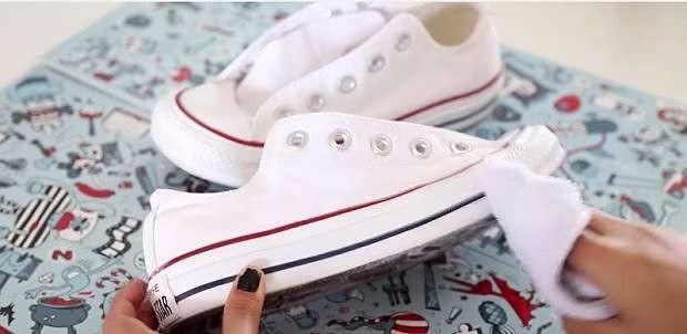 limpiar zapatillas sneakers blancas