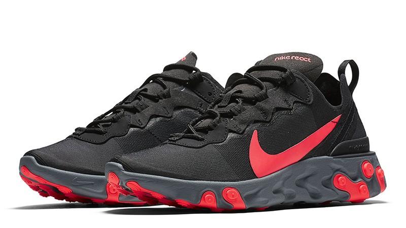 malla Desplazamiento falso  Nike React Element 55: Características - | Sneakitup
