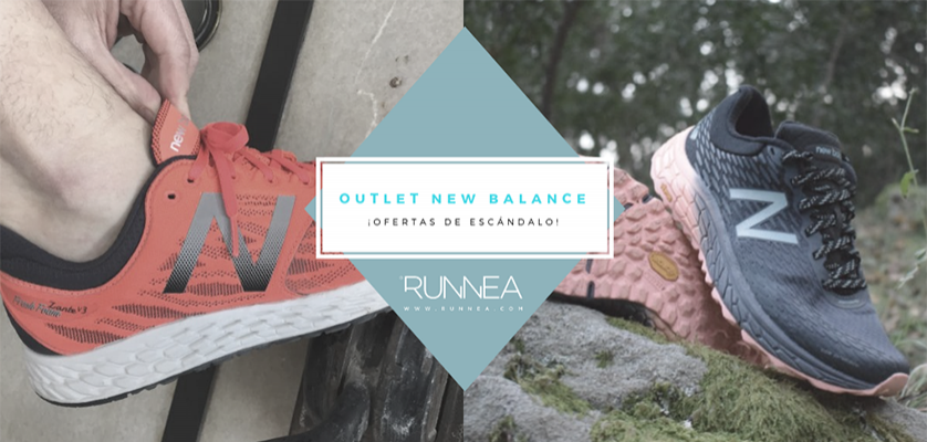 Outlet de zapatillas de running New Balance con grandes