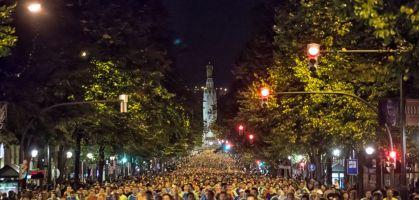 Las 7 razones de peso para correr el EDP Bilbao Night Marathon