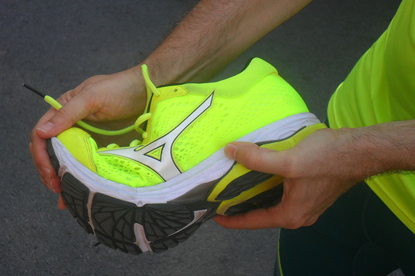 Review Mizuno Wave Rider 22, capacidad de flexibilidad - foto 5 bis